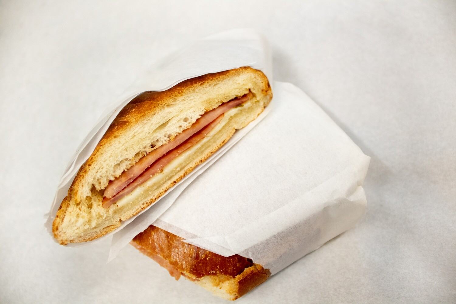 Rolo Sandwich- ham and cheese