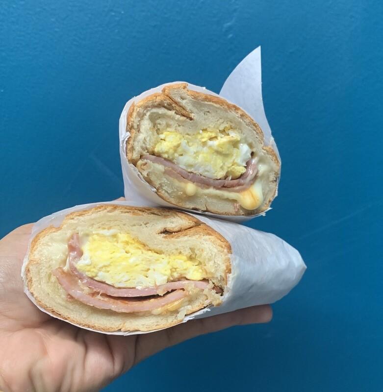 Caleno Sandwich- ham / egg / cheese