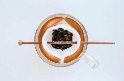 Reusable Tea Bags with Balancing stick