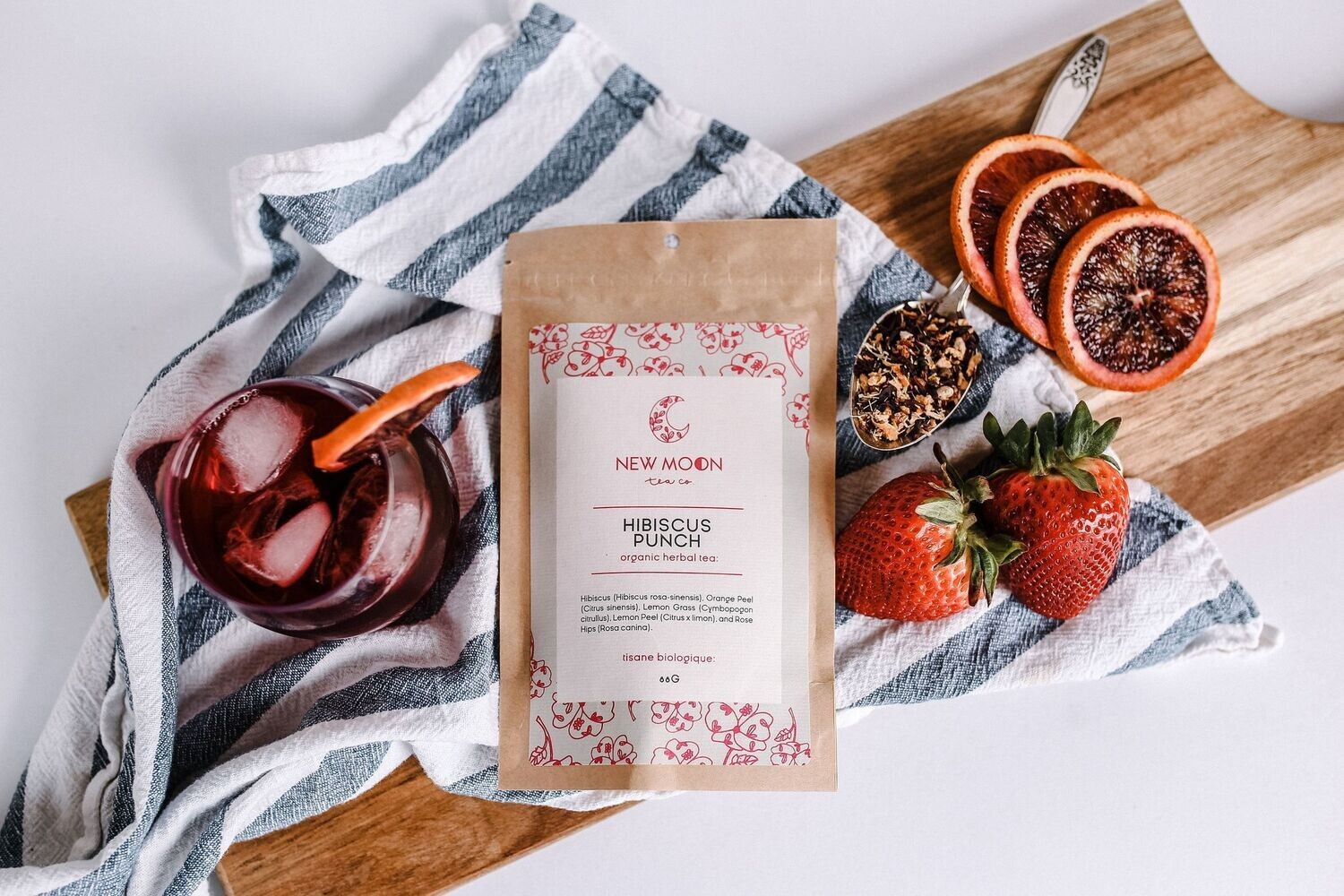 Hibiscus Punch Iced Tea Blend