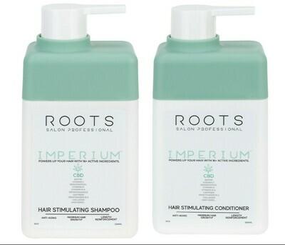 Roots Imperium CBD Shampoo and Conditioner