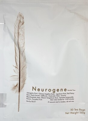Botanical Biohacking Neurogene tea 30 teabags