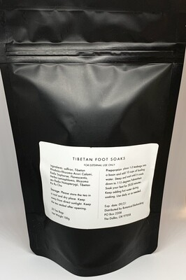 Tibetan Foot Soaks 20 Sachets by Botanical Biohacking