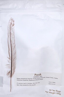 Peak Tea 30 teabags by Botanical Biohacking