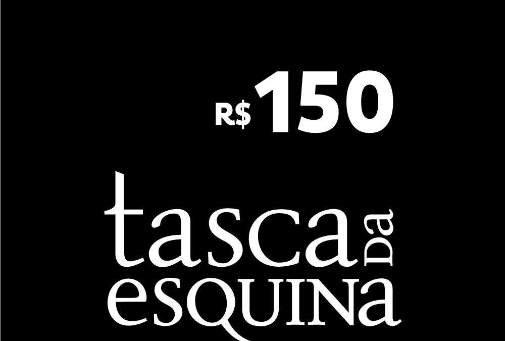 Tasca: Voucher de R$ 150