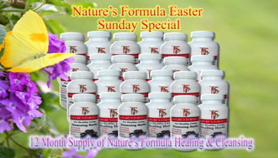 Nature's Formula Spring Special + Share The Gift of Life Special
