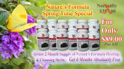 Nature's Formula Spring Special
