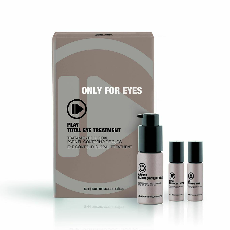 Комплексный омолаживающий уход за кожей вокруг глаз | PLAY TOTAL EYE TREATMENT