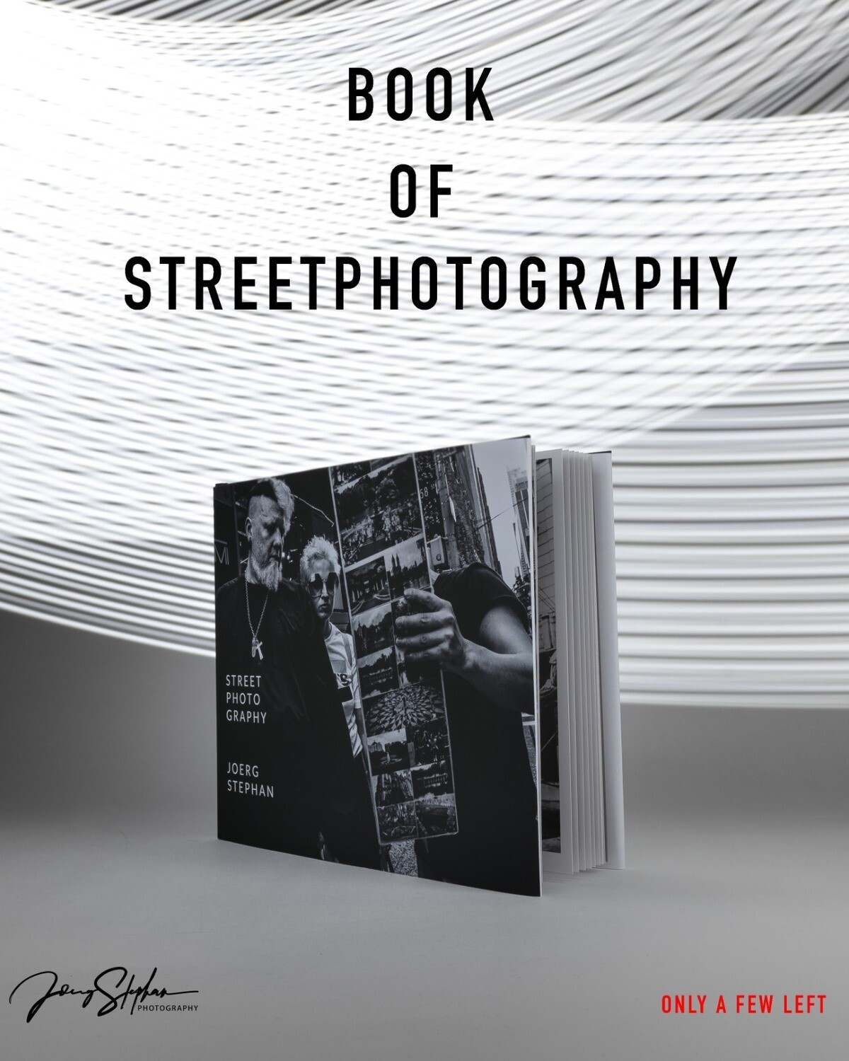 STREET PHOTOGRAPHY book - 26 pages