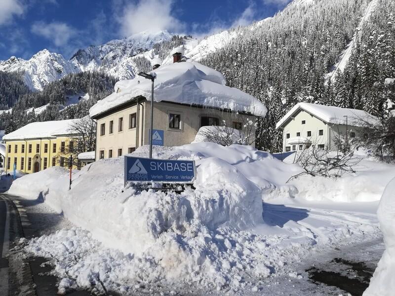 Skibase Ferienwohnung  Wald/Arlberg 400m vom Lift, 135qm, max 12 Personen