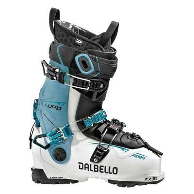 Dalbello Lupo AX 105 Skischuh White Blue Cyan Damen