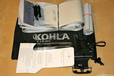 Kohla Felle 135mm breit  Mohair Mix 70/30 Klebefelle I-Clip A zum selberschneiden