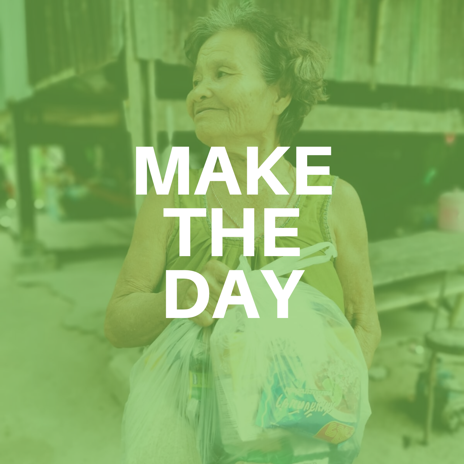 SUPPORT INDIVIDUALS BY MEALS FOR A DAY