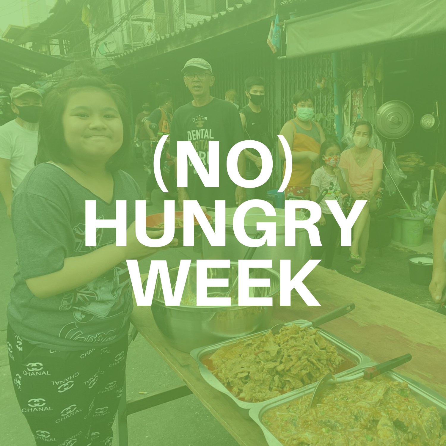 SUPPORT INDIVIDUALS BY MEALS FOR A WEEK