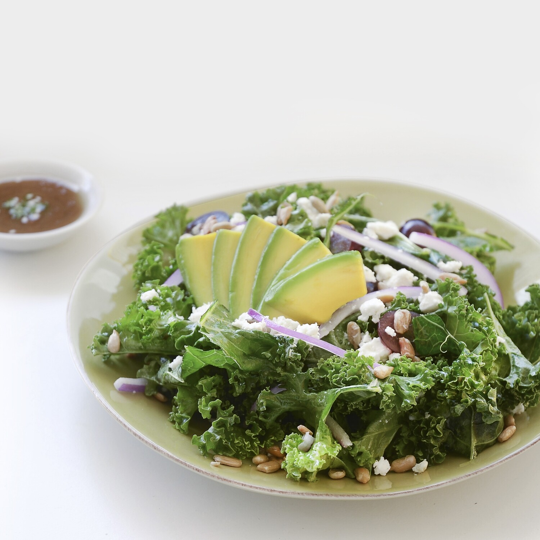 Curly Kale Salad