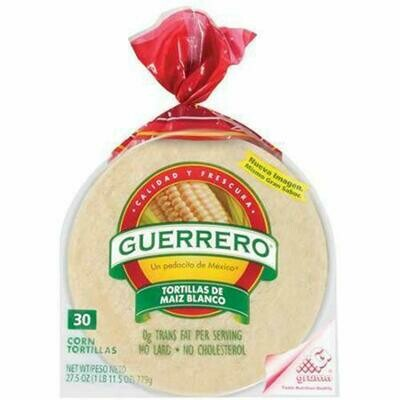 Guerrero White Corn Tortilla 6