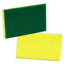 Scotch Brite Medium Duty Sponge Yellow/Green (ea)
