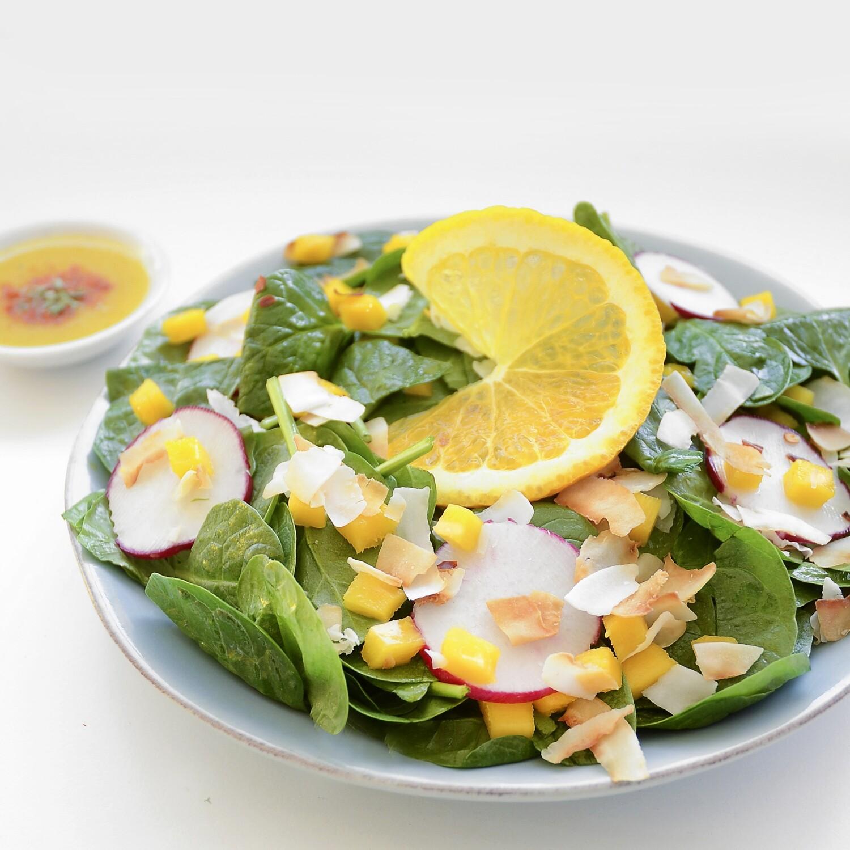 Spinach Mango Salad