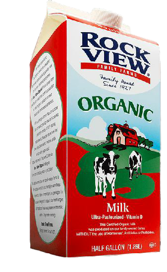 Milk Organic Whole (1/2gl)