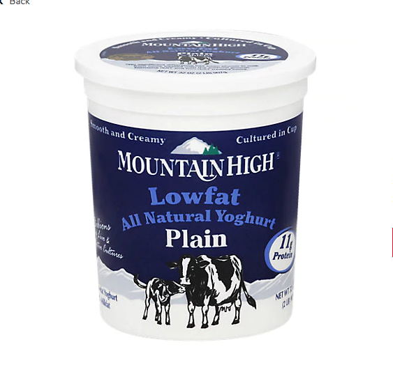 Yogurt Mountain High Low Fat (32oz)