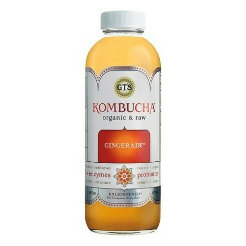 Synergy Gingerade Kombucha