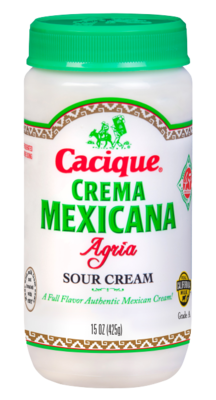 Sour Cream El Cacique (15oz)