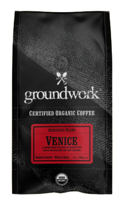 GroundWork Coffee Venice Organic (12oz)