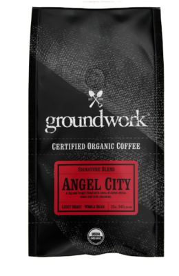 GroundWork Coffee Angle City Organic (12oz)