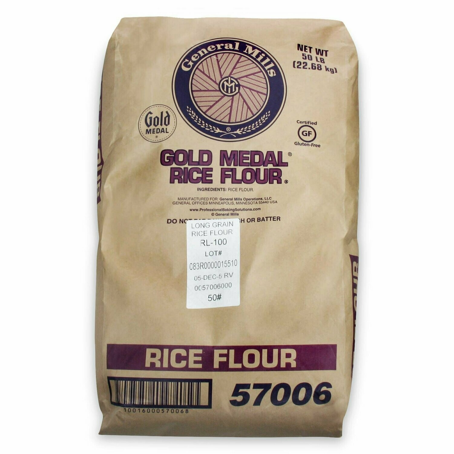 Flour Rice - Gold Medal Gluten Free (lbs)