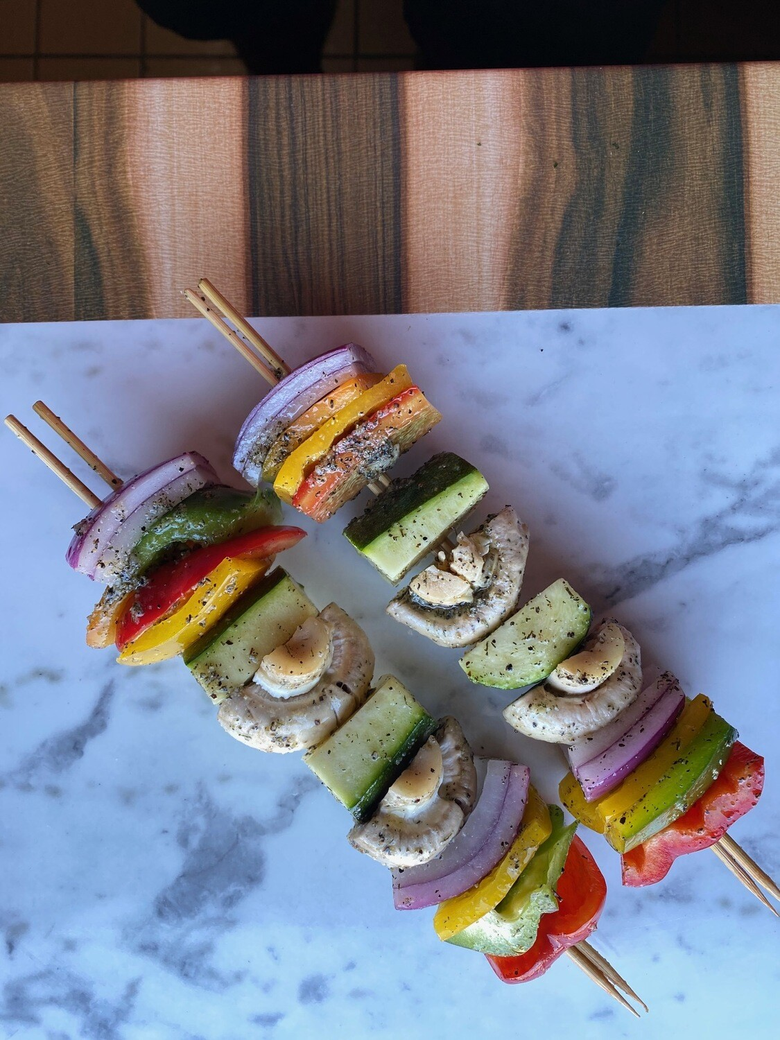 Veggies Kabob Skewer