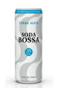 Soda Bossa Yerba Mate (35 CAL)