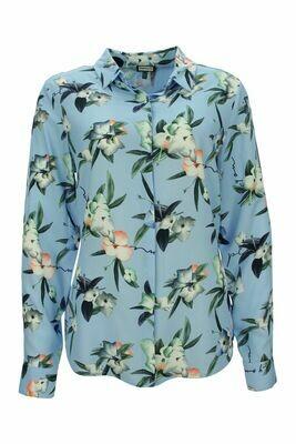 Blumenprint Bluse
