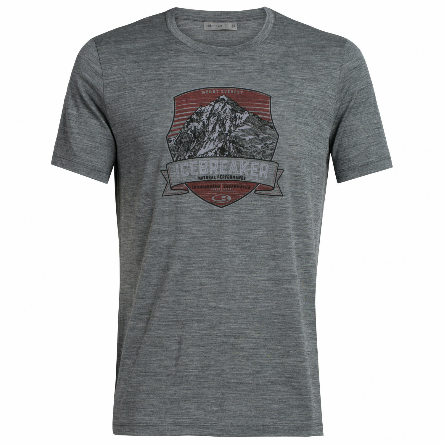 T-Shirt Tech lite Everest Crest Icebreaker