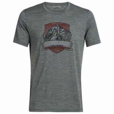 T-Shirt Tech lite Everest Crest Icebreaker