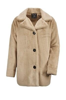 Windig kuschelige Oversize Jacke