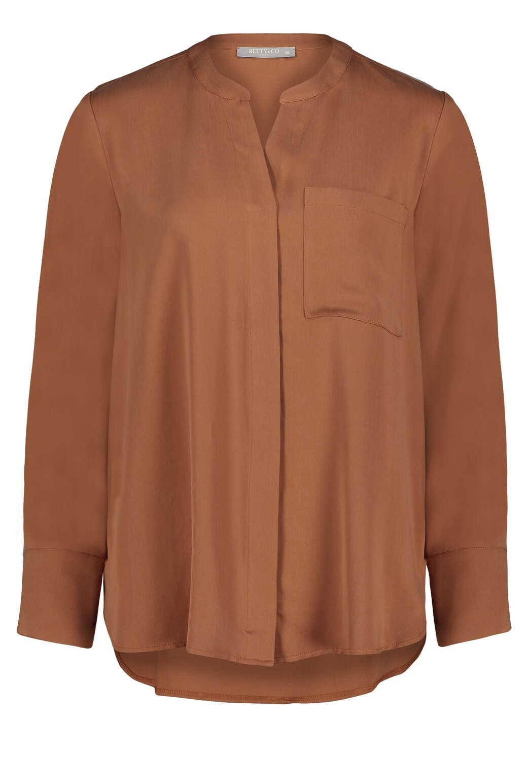 Lyocell Long-Bluse Betty