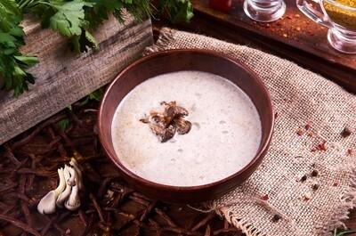 Крем-суп из грибов