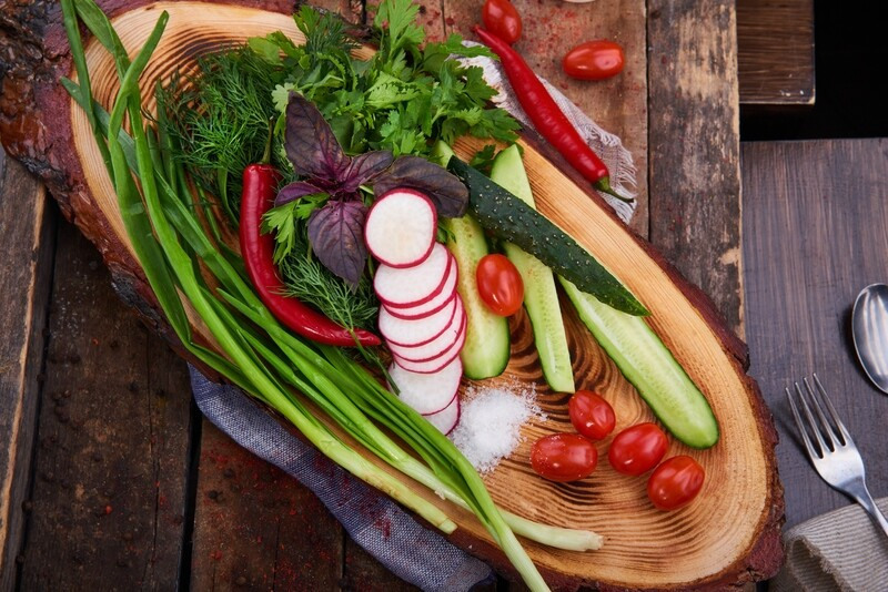 Овощи с грядки