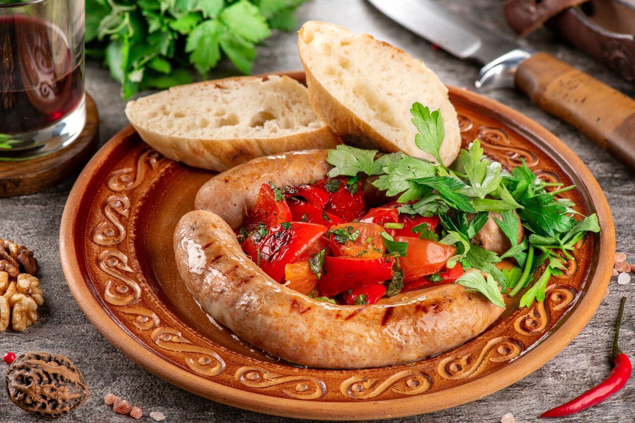 Грузинские колбаски из баранины