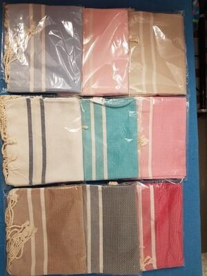 Serviettes de table Chevrons x 5