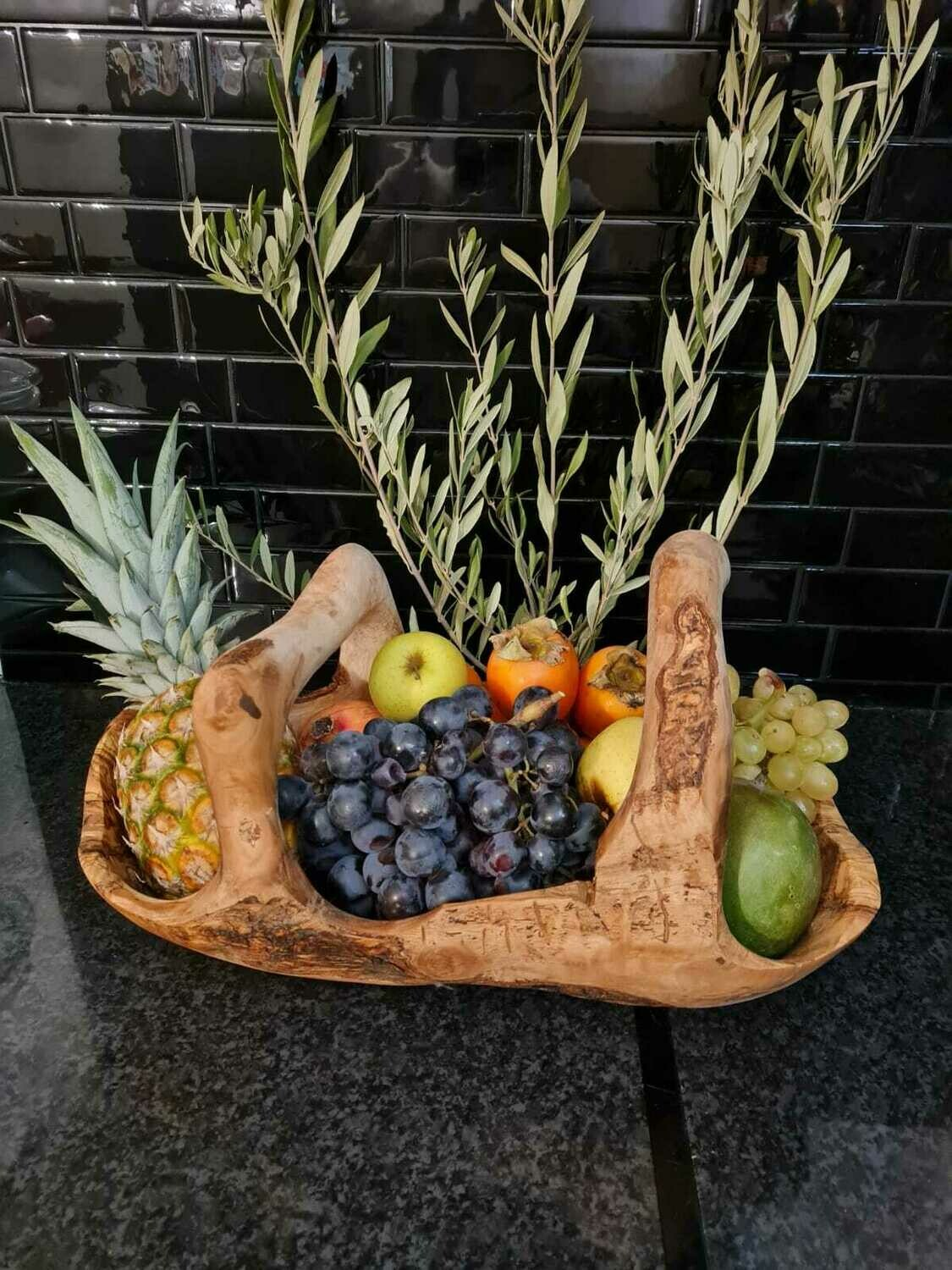 Fruit bowl with handles