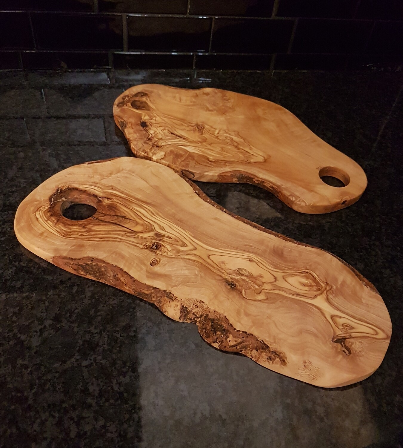 Thin board with hole
