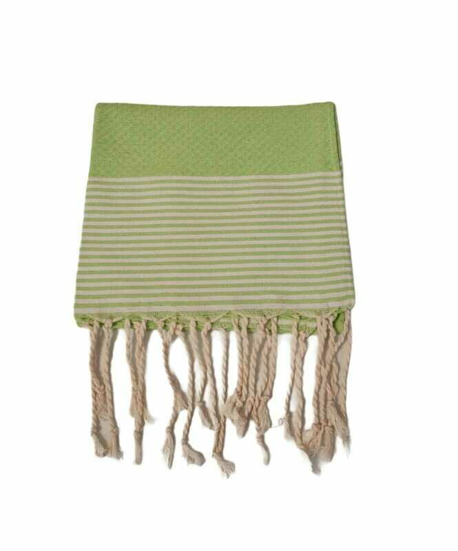 Serviette de table nid d'abeille