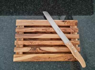 Planche à pain en bois d'olivier