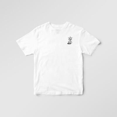 Tee Shirt PALMIER - Blanc