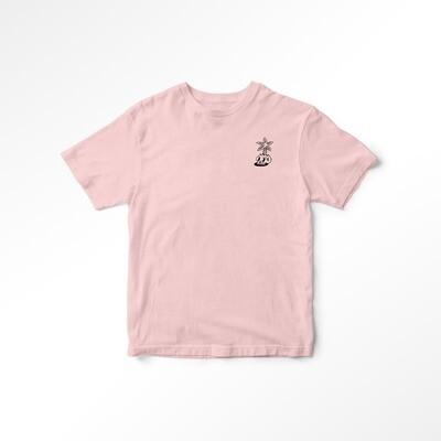 Tee Shirt PALMIER - Rose