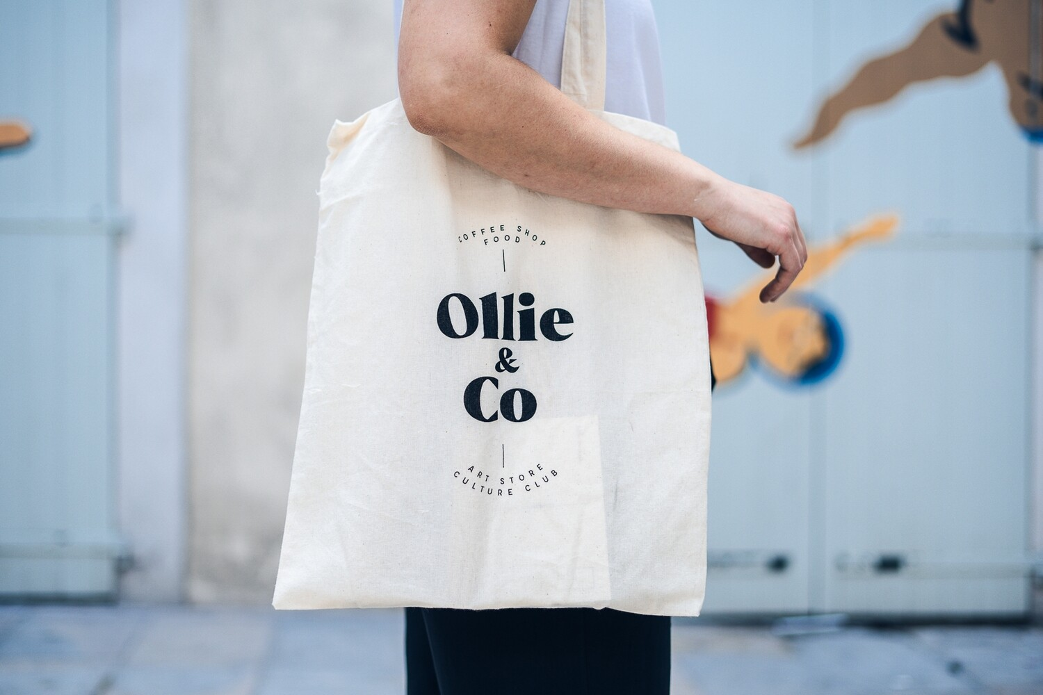 "Tote Bag ""OLLIE & CO"""