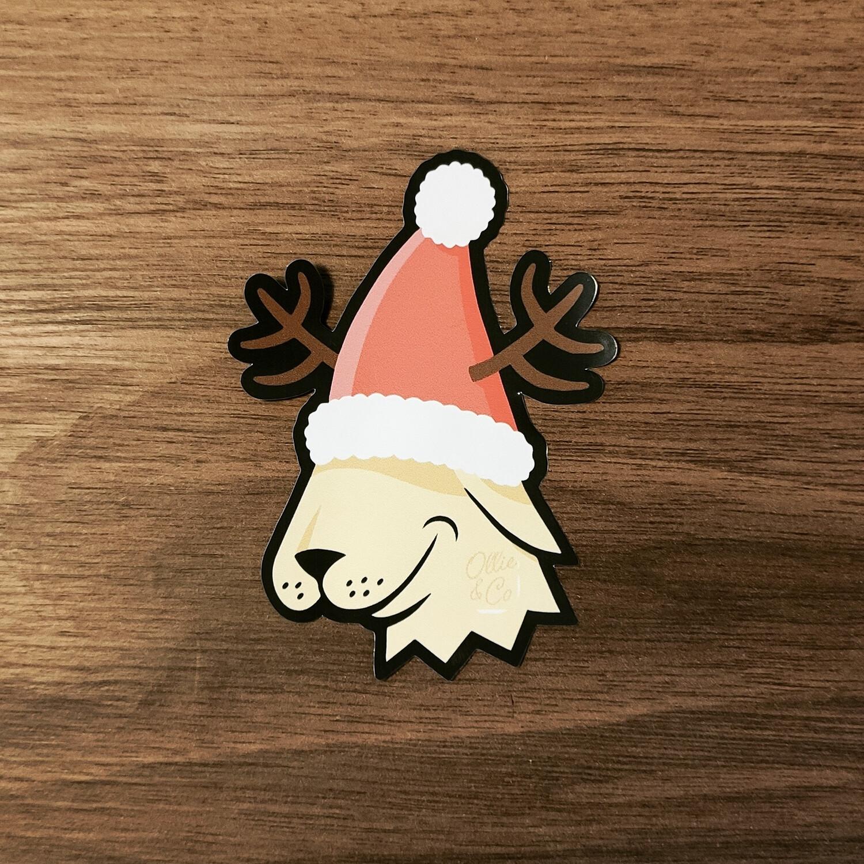 """Sticker """"Ollie Noël"""" 🎅"""