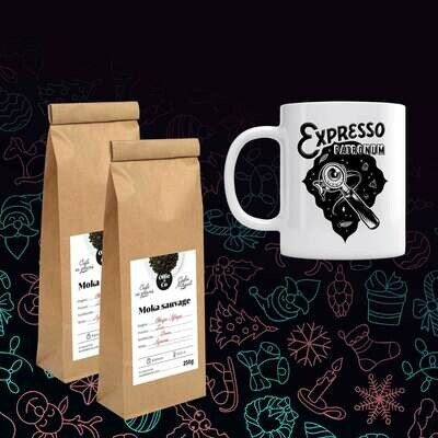 Coffret 2 cafés + 1 Mug [Édition limitée]