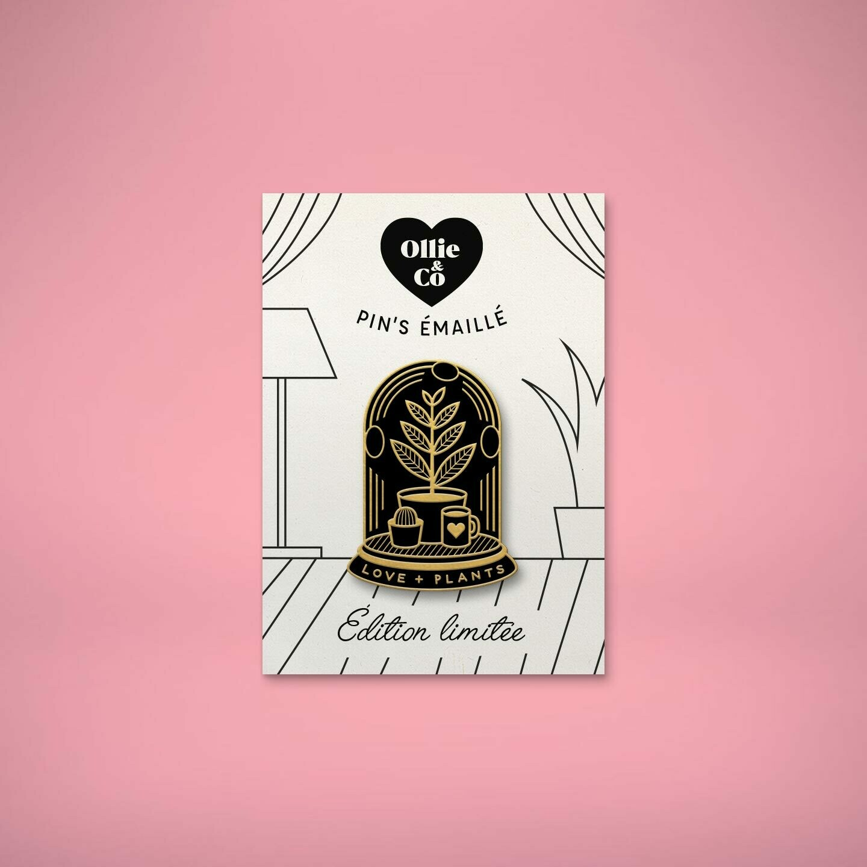 """Pin's émaillé """"Love Plants"""" (édition limitée)"""